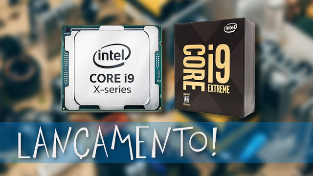 Intel anuncia novo Core i9 com 18 núcleos e 36 threads