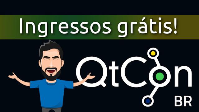 Sorteio de 3 ingressos para a QtCon Brasil 2017 em São Paulo!