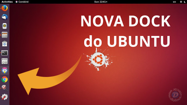 Ubuntu 17.10 terá uma dock visível do lado esquerdo, mas não será a Dash to Dock