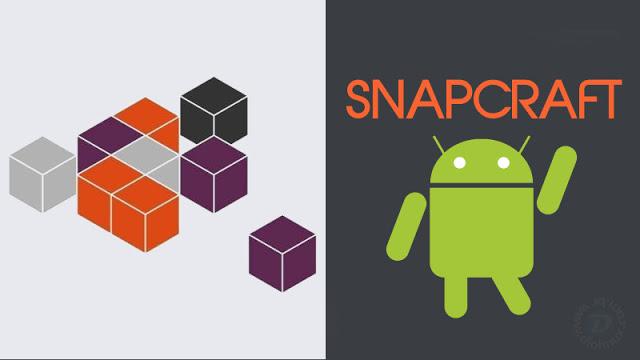 Pacotes Snap do Ubuntu agora tem suporte para o Android