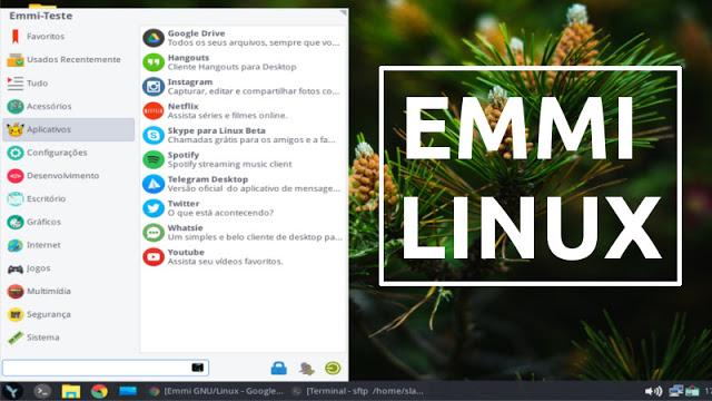 Conheça o Emmi Linux, uma nova distribuição Linux brasileira