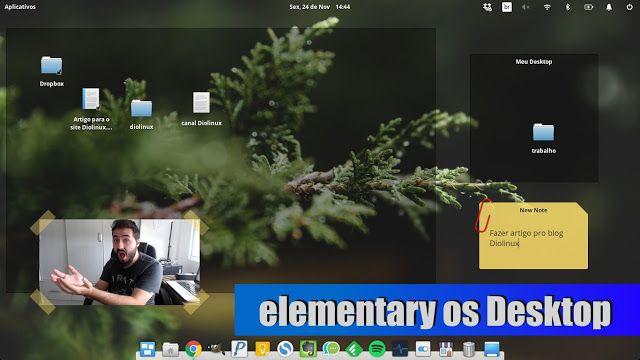 Desktop Folder - Tornando a área de trabalho do elementary OS útil novamente