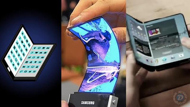 Novo Galaxy X da Samsung será dobrável ao meio!