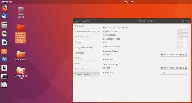 """GNOME 3.28 vai """"extinguir"""" com a área de trabalho"""