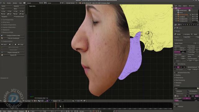 Computação Gráfica 3D com Software Livre Aplicada às Ciências da Saúde