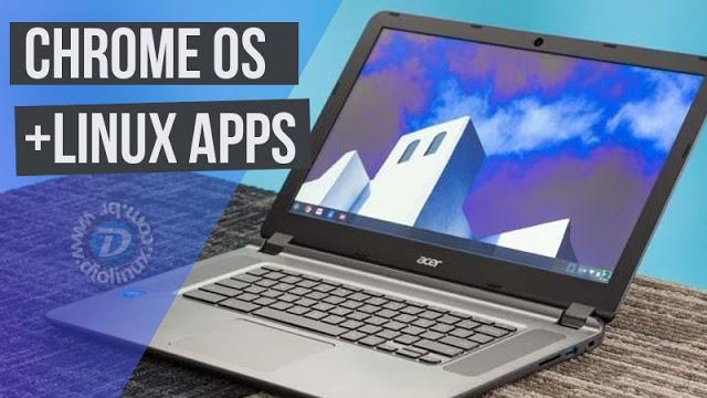 Chrome OS suportará Apps de Linux e o impacto dessa mudança no mercado
