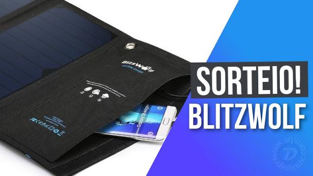 Participe do sorteio e concorra a um kit de produtos BlitzWolf!