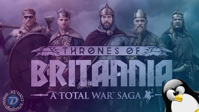 A Total War Saga: Thrones of Britannia agora disponivel para Linux