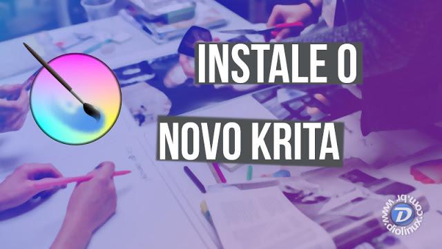 Veja como instalar o Krita 4.04 no Ubuntu 18.04 LTS e Mint 19