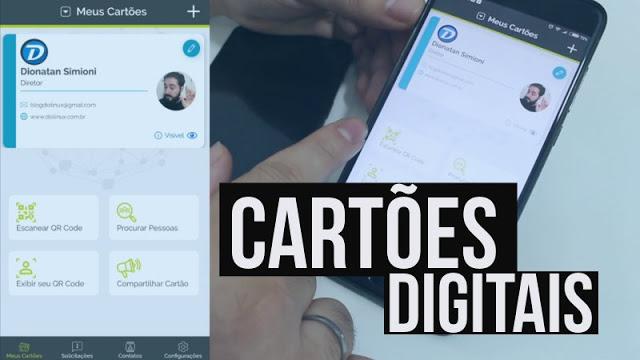 Aprenda a criar um cartão de visita Digital!
