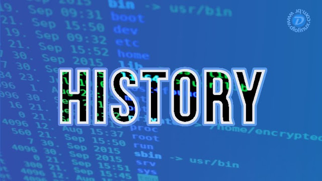 "Como customizar o ""history"" do Shell no Linux"