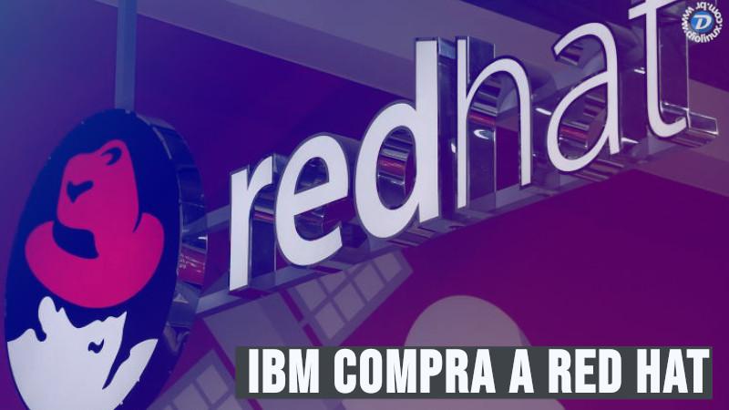 IBM compra a Red Hat
