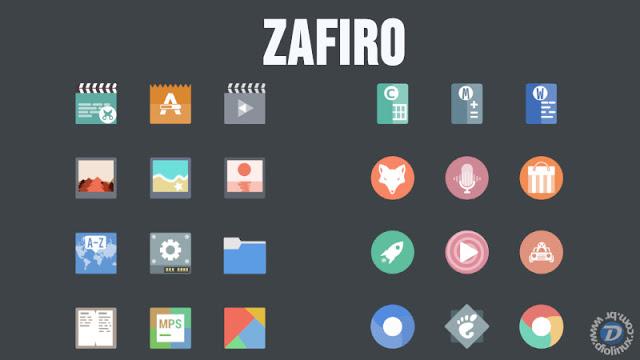 Como instalar o tema minimalista Zafiro no Ubuntu
