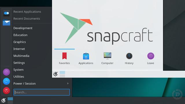 KDE Plasma agora pode ser um SNAP?