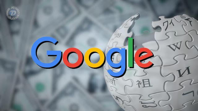 Google doa US$ 3,1 milhões à Wikipédia