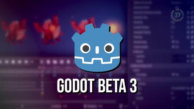 Beta 3 da Godot Engine 3.1 é anunciado!