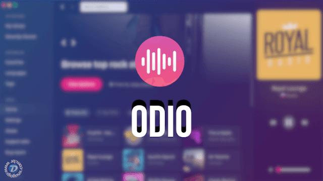 Odio, um excelente app de streaming de rádio para Linux