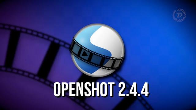 Nova versão do editor de vídeo OpenShot lançada!