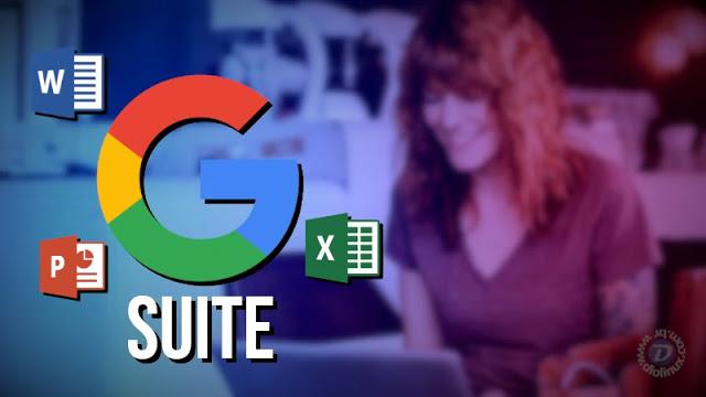 G Suite agora suporta arquivos do Microsoft Office