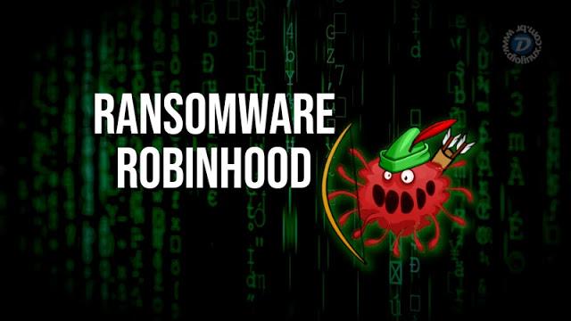 """Novo Ransomware RobinHood """"promete respeitar sua privacidade"""""""