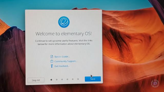 elementary OS apresenta nova tela de apresentação!
