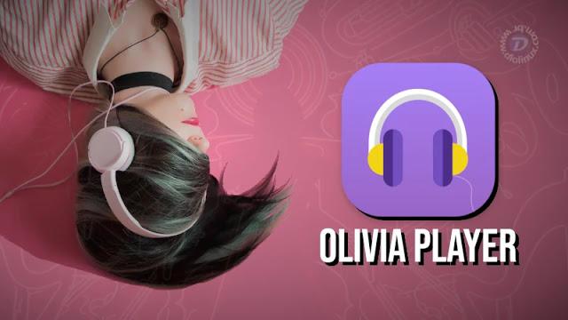 Olivia, um elegante player para streaming de áudio