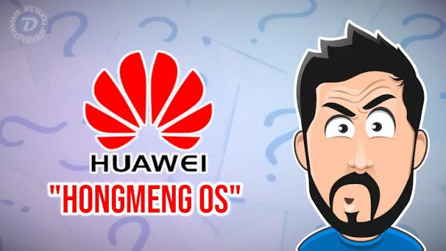 Huawei continua investindo em seu sistema HongMeng OS