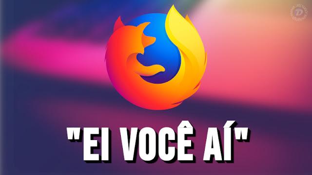 O Firefox 70 pode vir com alerta nativo se sua senha for vazada