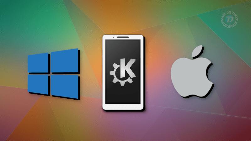 KDE Connect no macOS e Windows!