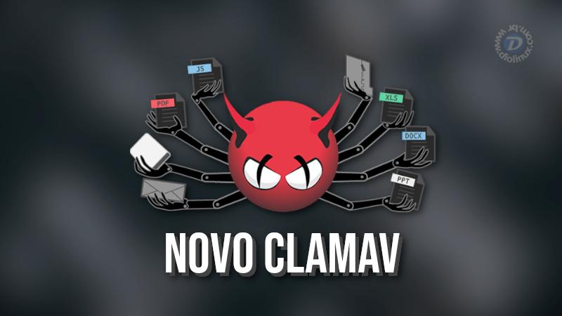 Nova versão do antivírus ClamAV