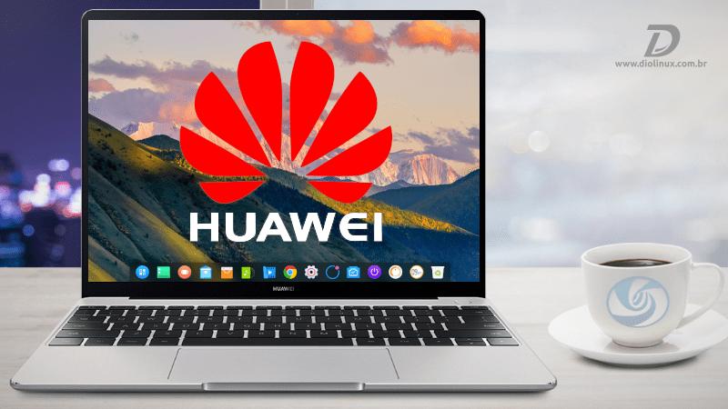 Huawei começa a vender computadores com Deepin