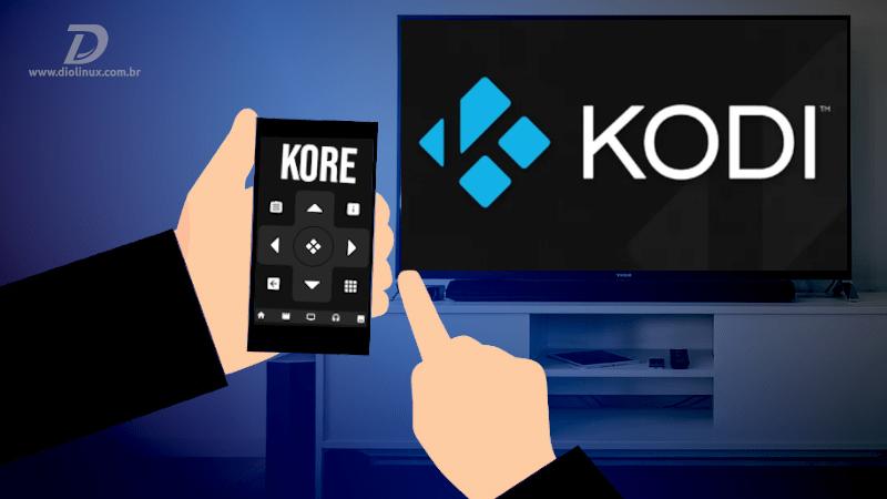 Controle a central multimídia Kodi pelo smartphone