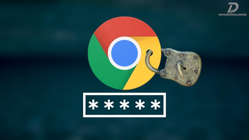 Chrome solicitando senha ao iniciar