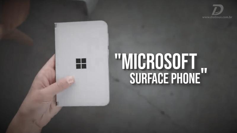 "Microsoft apresenta seu ""smartphone dobrável"""