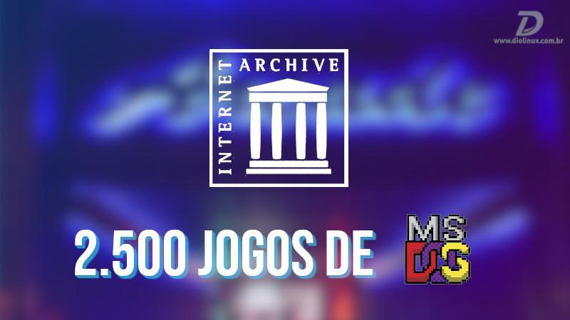 Internet Archive adiciona mais de 2000 jogos de MS-DOS para jogar no browser