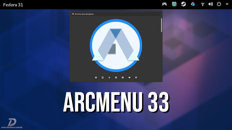 ArcMenu 33 chega com suporte ao GNOME 3.34 e várias outras novidades