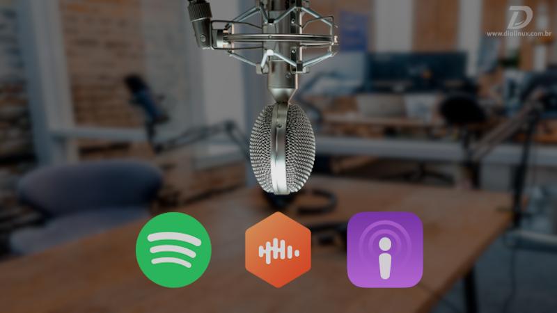 Como criar um podcast grátis e publicar no Spotify e Apple Podcasts