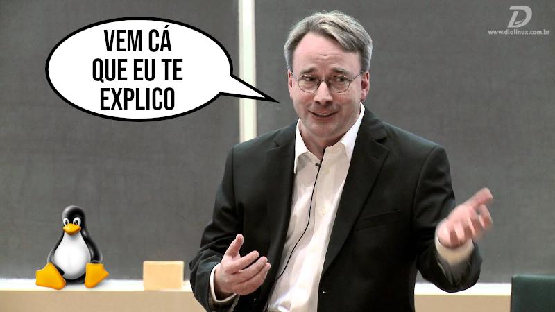 Quem é Linus Torvalds no desenvolvimento do Kernel Linux hoje em dia?