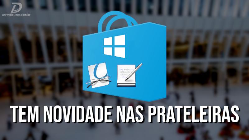 Kate e Okular na Windows Store, e portabilidade de softwares