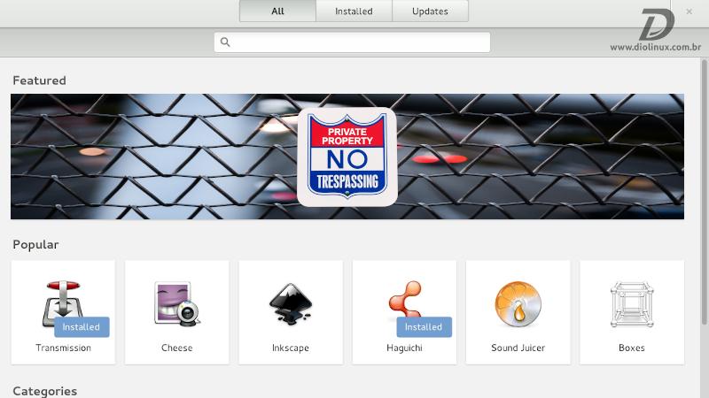 Fedora não impedirá softwares proprietários de serem exibidos nos banners da GNOME Software