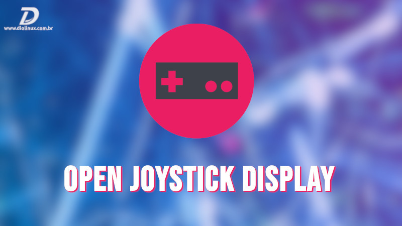 open joystick display