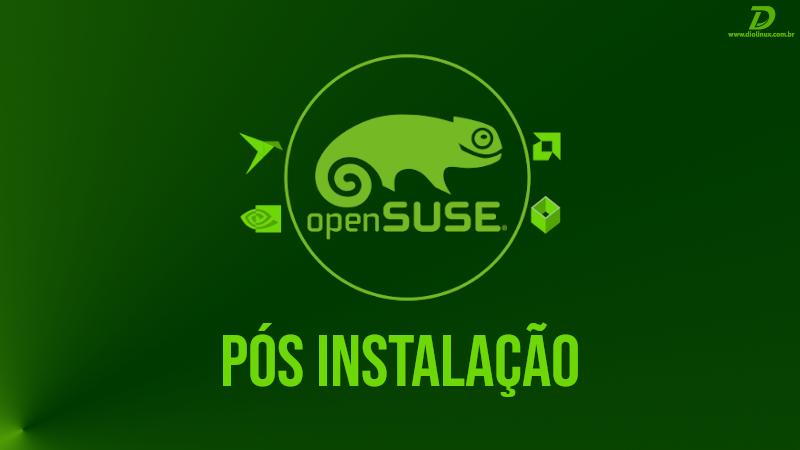postinstall opensuse