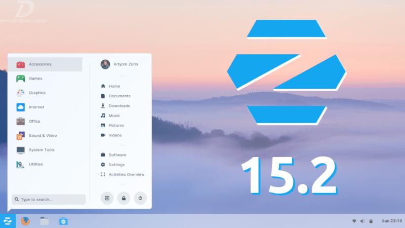 ZorinOS 15.2 lançado