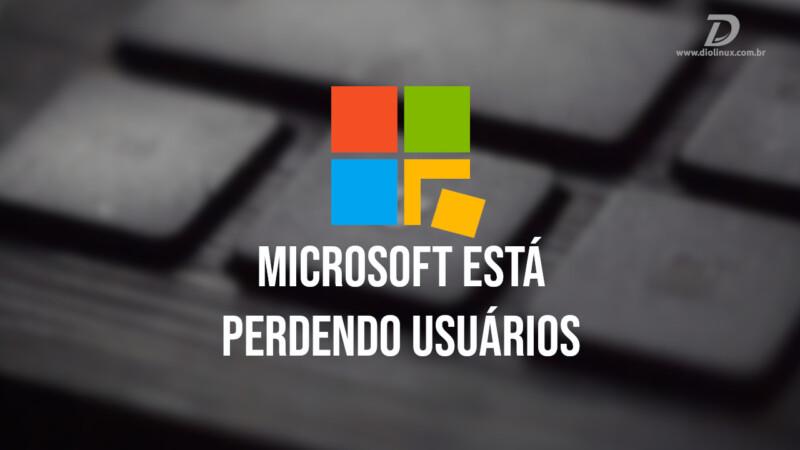 Windows perde usuários