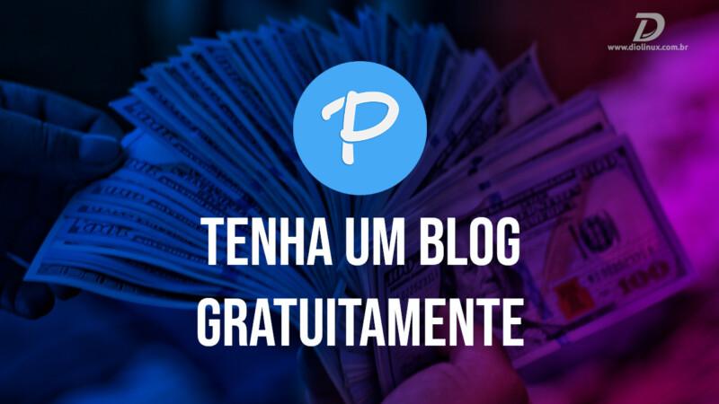 Tenha um blog gratuitamente