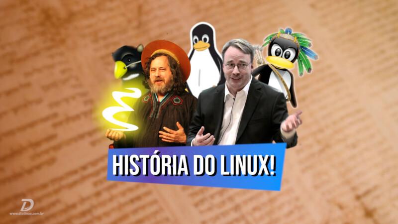 A história do Linux